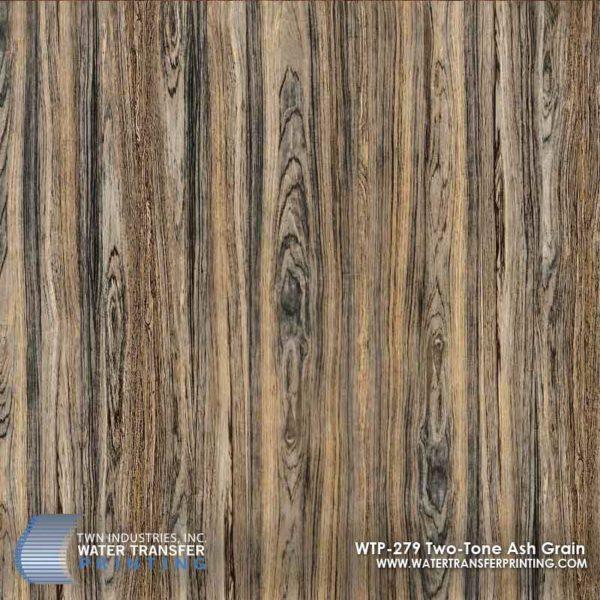 WTP-279 Two-Tone Ash Grain Hydrographic Film