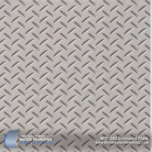 WTP-282 Diamond Plate Hydrographic Film