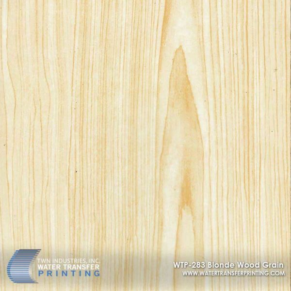 WTP-283 Blonde Wood Grain Hydrographic Film