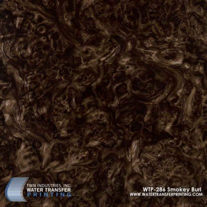 WTP-286 Smokey Burl Hydrographic Film