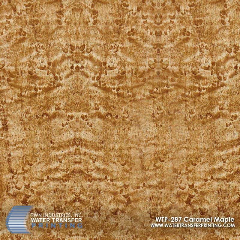 WTP-287 Caramel Maple Hydrographic Film