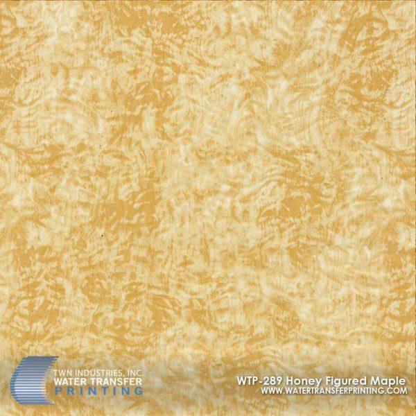 WTP-289 Honey Figured Maple Hydrographic Film