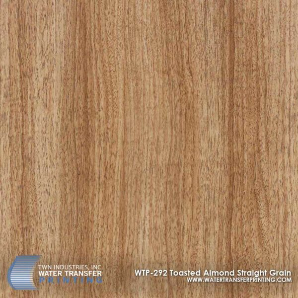 WTP-292 Toasted Almond Straight Grain Hydrographic Film