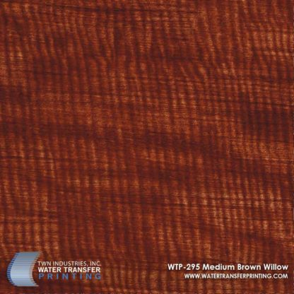 WTP-295 Medium Brown Willow Hydrographic Film