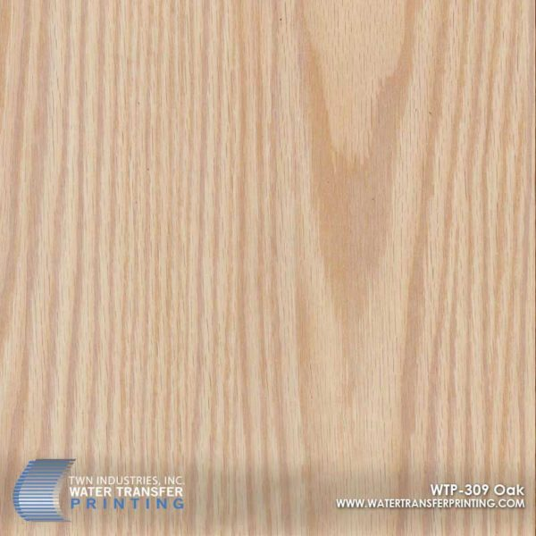 WTP-309 Light Oak Hydrographic Film