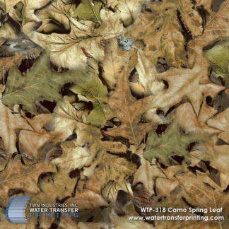 WTP-318 Spring Leaf Camo Hydrographic Film