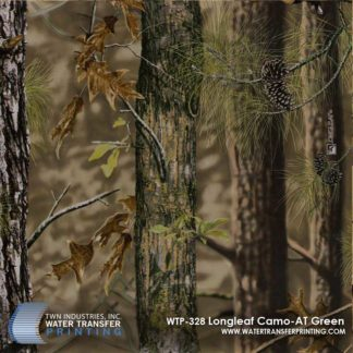 WTP-328 Longleaf Camo AT Green Hydrographic Film