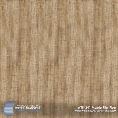 WTP-341 Maple Flip Flop Hydrographic Film