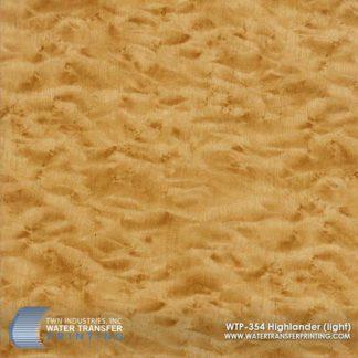 WTP-354 Light Highlander Hydrographic Film