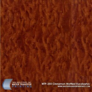 WTP-355 Cinnamon Mottled Eucalyptus Hydrographic Film