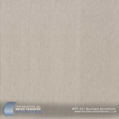 WTP-361 Brushed Aluminum Hydrographic Film