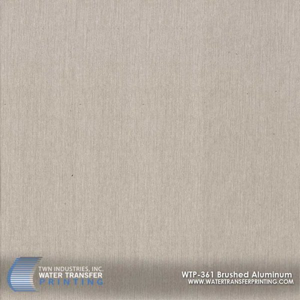 WTP-361 Brushed Aluminum Hydrographic Film