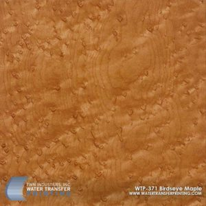 WTP-371 Birdseye Maple Hydrographic Film