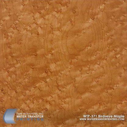 WTP-371 Birdseye Maple Hydrographic Film