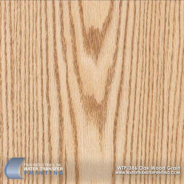 WTP-386 Oak Wood Grain Hydrographic Film