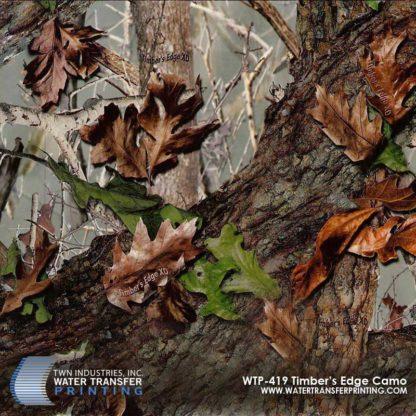 WTP-419 Timber's Edge XD Hydrographic Film