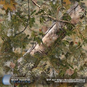 WTP-427 King's Mountain Shadow Hydrographic Film