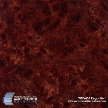 WTP-434 Regal Burl Hydrographic Film