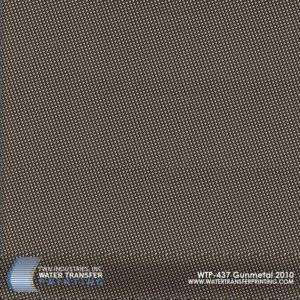 WTP-437 Gun Metal Hydrographic Film