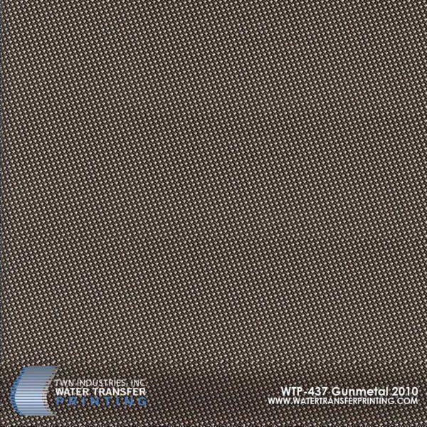 WTP-437 Gun Metal Hydrographic Film