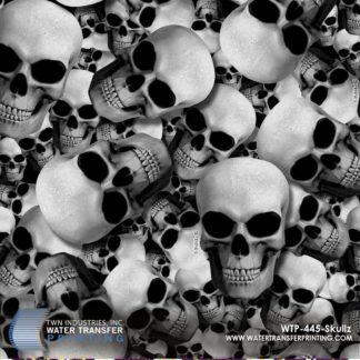 WTP-445 Skullz Hydrographic Film