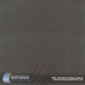 WTP-453 Black Real Carbon Hydrographic Film
