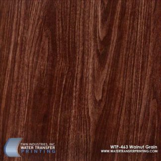 WTP-463 Walnut Grain Hydrographic Film