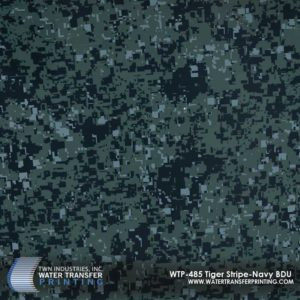 WTP-485 Tiger Stripe Navy BDU Hydrographic Film