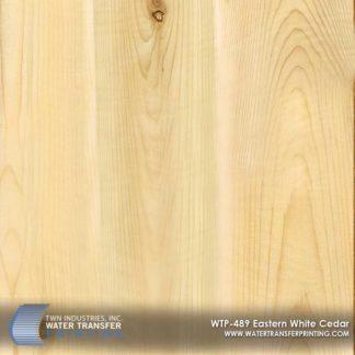 WTP-489 Eastern White Cedar Hydrographic Film