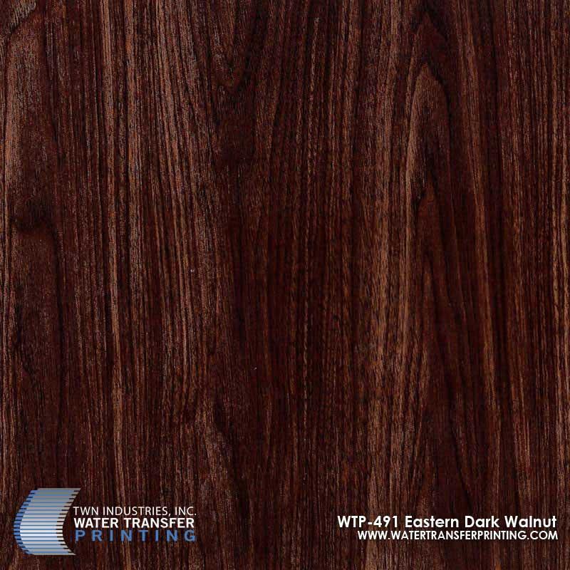 Eastern Dark Walnut Hydrographic Film Wtp 491 Twn Industries