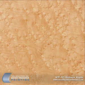 WTP-501 Birdseye Maple Hydrographic Film