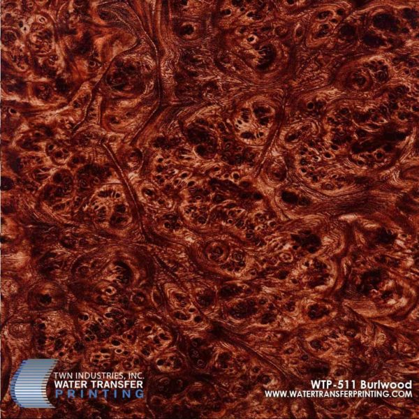WTP-511 Burl Wood Hydrographic Film