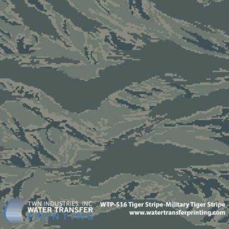WTP-516 Tiger Stripe-Military Tiger Stripe Hydrographic Film