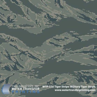 WTP-516 Tiger Stripe-Military Tiger Stripe Hydrographic Film