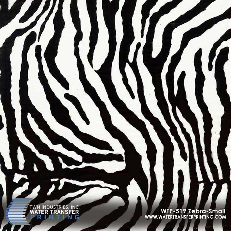 WTP-519 Zebra Small Hydrographic Film