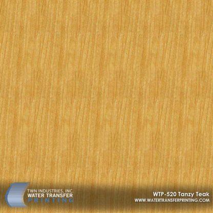 WTP-520 Tanzy Teak Hydrographic Film