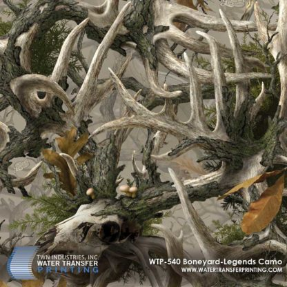 WTP-540 Boneyard Legends Hydrographic Film