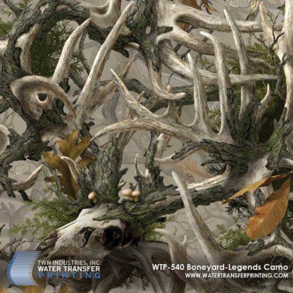 WTP-540 Boneyard Legends Hydrographic Film