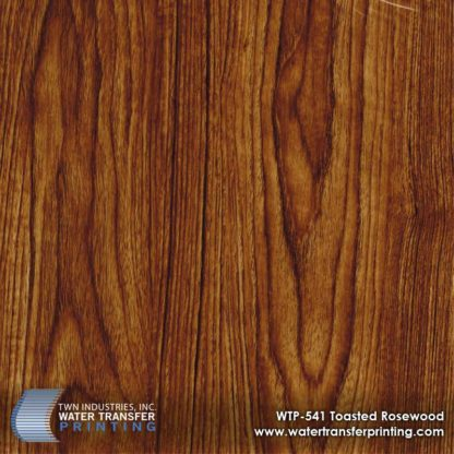 WTP-541 Toasted Rosewood Hydrographic Film