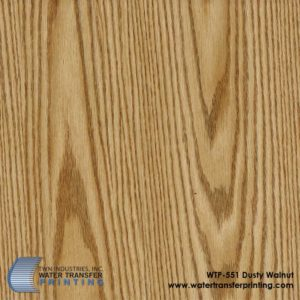 WTP-551 Dusty Walnut Hydrographic Film
