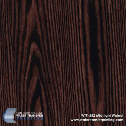 WTP-552 Midnight Walnut Hydrographic Film