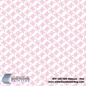 WTP-555 TWN Ribbons-Pink Hydrographic Film