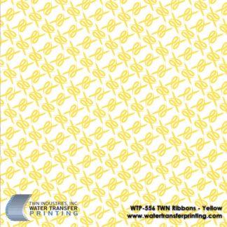 WTP-556 TWN Ribbons-Yellow Hydrographic Film