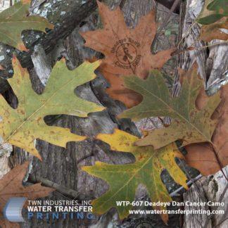 WTP-607 Deadeye Dan Cancer Camo Hydrographic Film