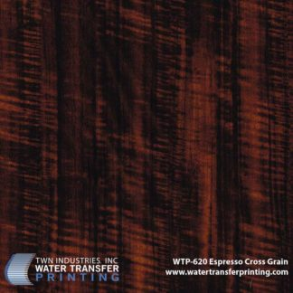 WTP-620 Expresso Cross Grain Hydrographic Film