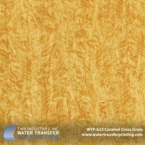 WTP-622 Caramel Cross Grain Hydrographic Film