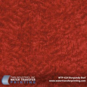 WTP-624 Burgundy Burl Hydrographic Film
