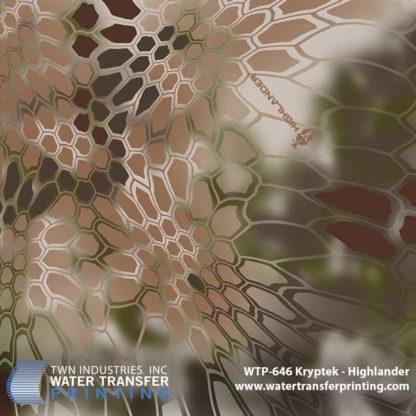 WTP-646 Kryptek Highlander Hydrographic Film