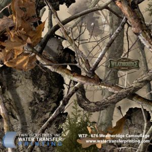 WTP-676 Boneyard Weatheridge Hydrographic Film