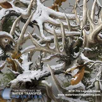 WTP-702 Boneyard Legends Snow Hydrographic Film